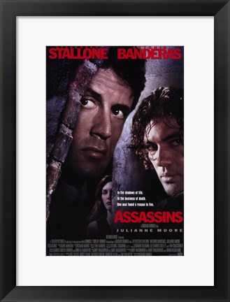 Framed Assassins Print
