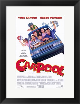 Framed Carpool Print