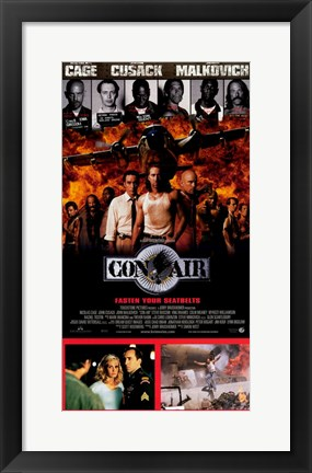 Framed Con Air Print