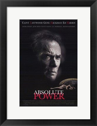 Framed Absolute Power Print