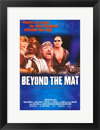 Framed Beyond the Mat Print