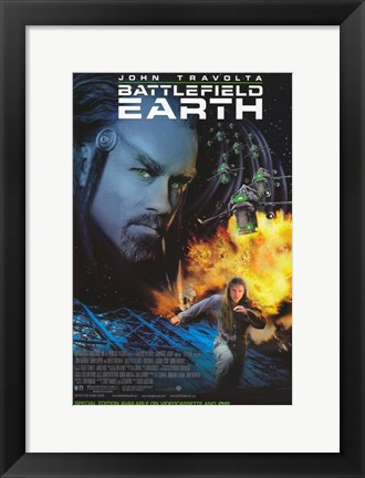 Framed Battlefield Earth Print