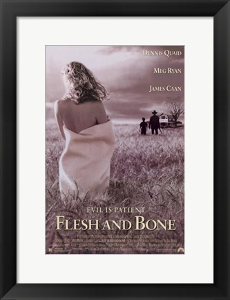 Framed Flesh and Bone Print