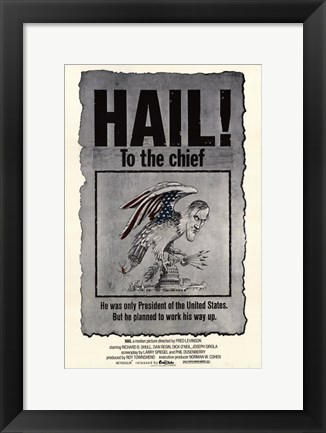 Framed Hail to the Chief Print