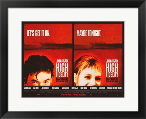 Framed High Fidelity Print