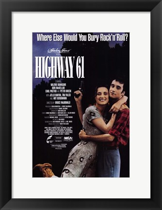 Framed Highway 61 Print