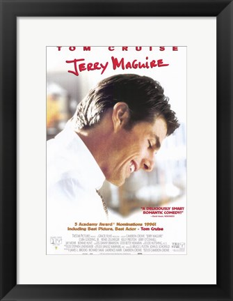 Framed Jerry Maguire Print