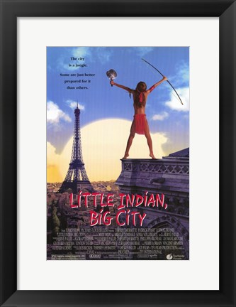 Framed Little Indian Big City Print