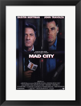 Framed Mad City Print