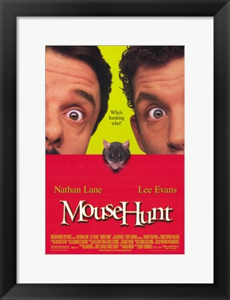 Framed Mouse Hunt Print