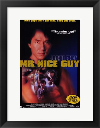 Framed Mr. Nice Guy Print