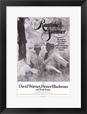Framed Ragtime Summer Print