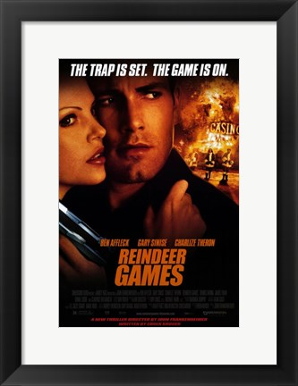 Framed Reindeer Games Print