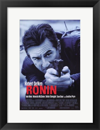 Framed Ronin Shooting Print