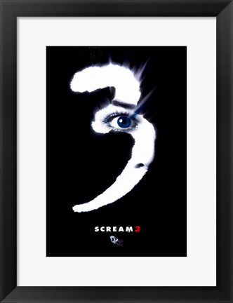 Framed Scream 3 Print