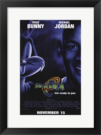 Framed Space Jam Print