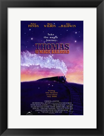Framed Thomas and the Magic Railroad Film Print