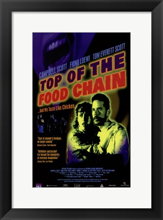Framed Top of the Food Chain Print
