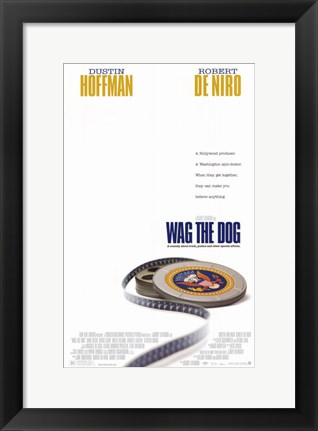 Framed Wag the Dog Print