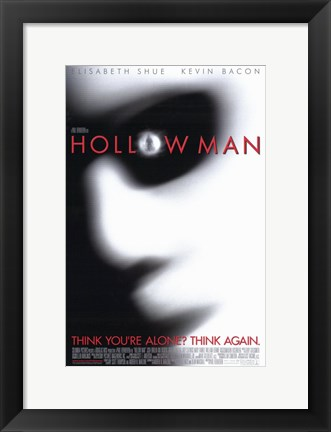 Framed Hollow Man Print