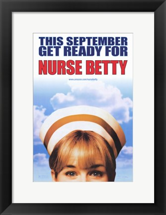 Framed Nurse Betty Print