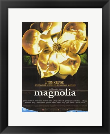 Framed Magnolia Tom Cruise Print