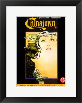 Framed Chinatown Widescreen Print