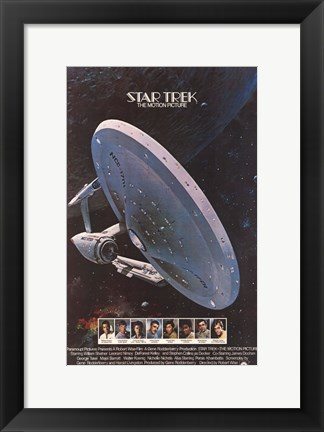 Framed Star Trek: The Motion Picture Print