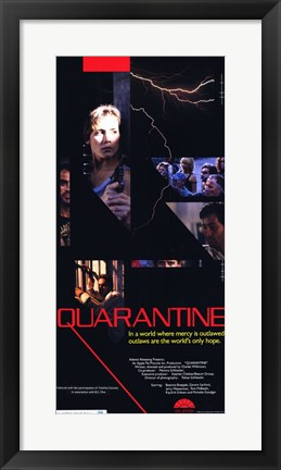 Framed Quarantine Print