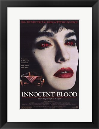 Framed Innocent Blood Print