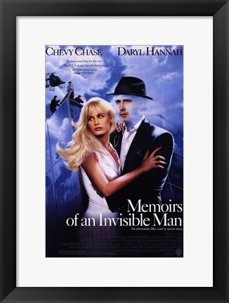 Framed Memoirs of an Invisible Man Print
