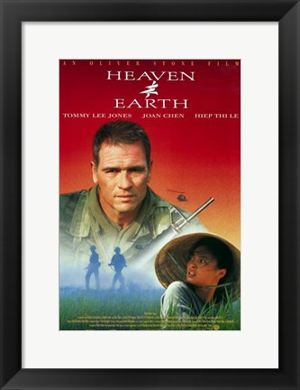 Framed Heaven and Earth Tommy Lee Jones Print
