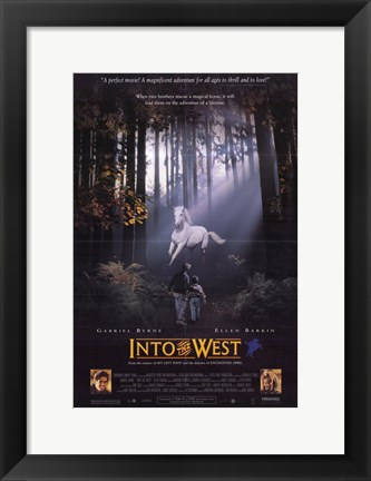 Framed Into the West Print