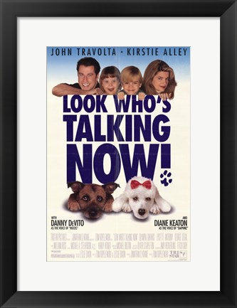 Framed Look Who's Talking Now Print