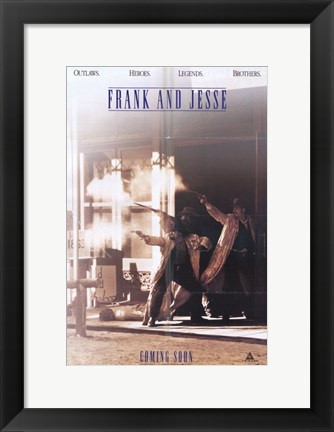 Framed Frank and Jesse Print