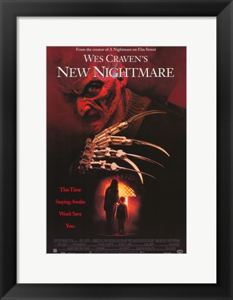 Framed Wes Craven's New Nightmare Print