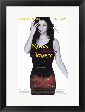 Framed Nina Takes a Lover Print