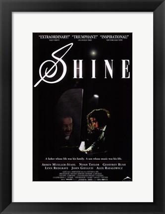 Framed Shine Print