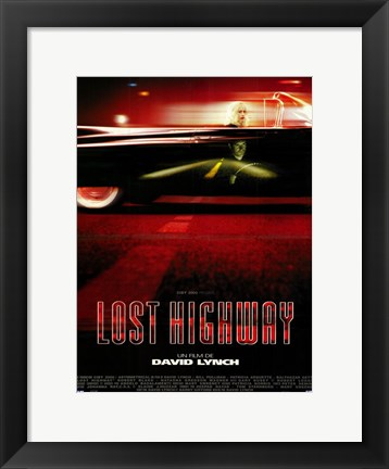 Framed Lost Highway Print