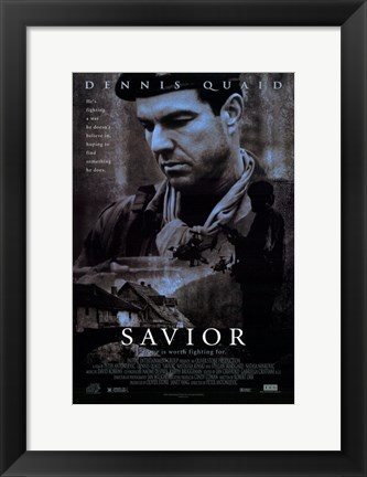 Framed Savior Print