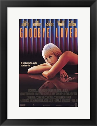 Framed Goodbye Lover Print