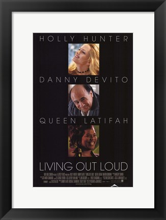 Framed Living Out Loud Print