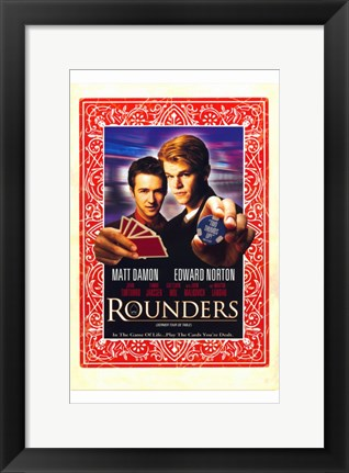 Framed Rounders - Cards Print
