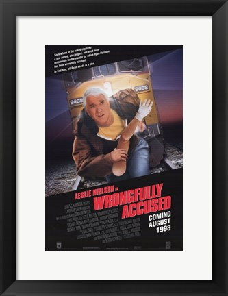 Framed Wrongfully Accused Print