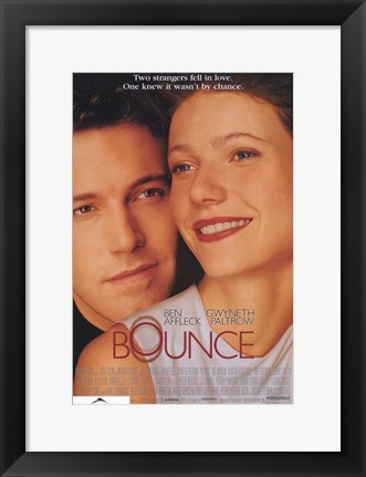 Framed Bounce Ben Affleck Print