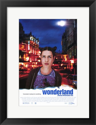 Framed Wonderland Print