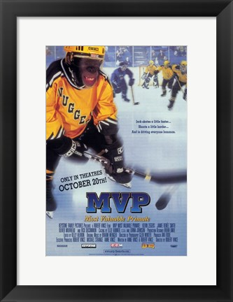 Framed MVP (Most Valuable Primate) Print
