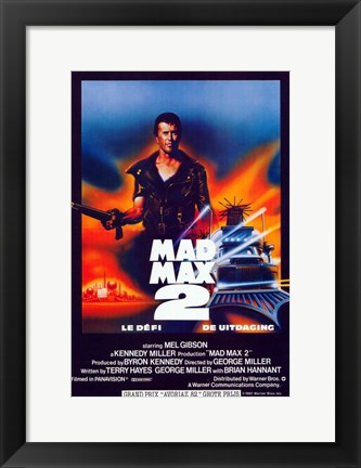 Framed Mad Max 2: The Road Warrior Print