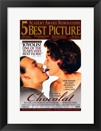 Framed Chocolat - Best Picture Print