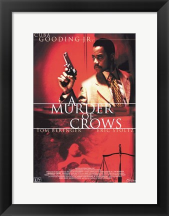 Framed Murder of Crows Print